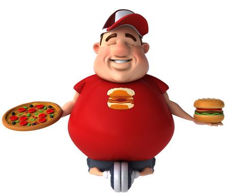 fatness: Overweight kid