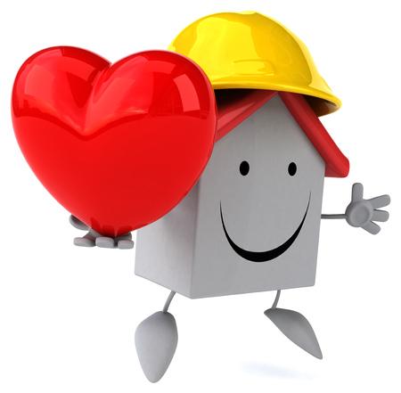 heart hard work: Fun house