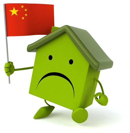 property of china: Fun house