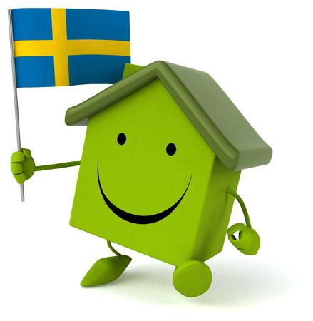 bandera de suecia: Fun house