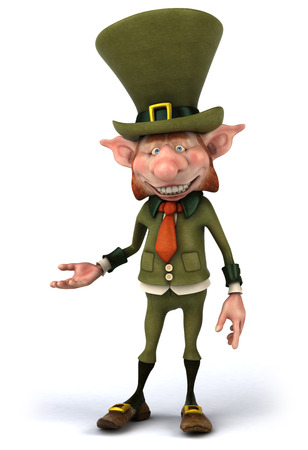 Leprechaun character Stock Photo - 81929376