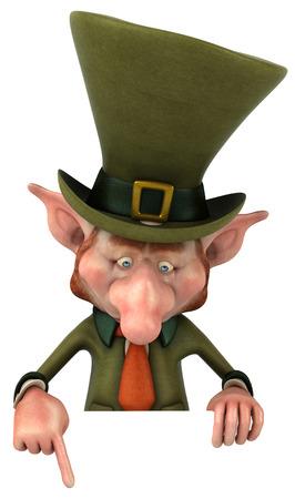 Leprechaun karakter Stockfoto