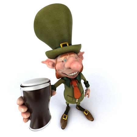 bretagne: Irish leprechaun Stock Photo