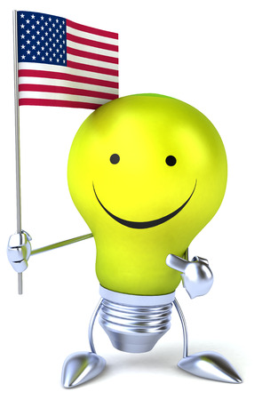 visions of america: Fun light bulb