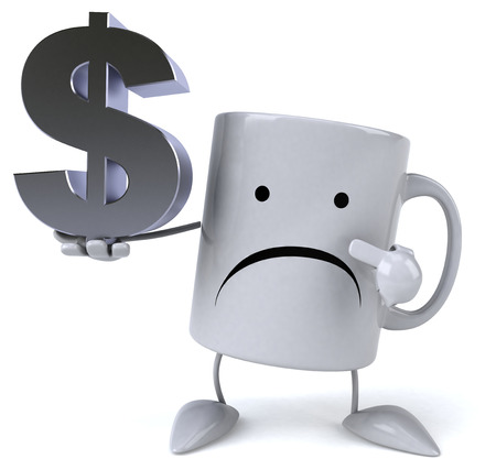 caf: Fun mug Stock Photo