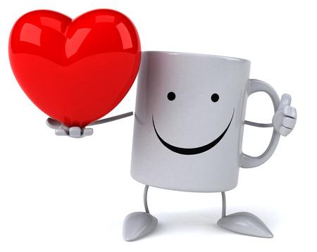 Fun mug Stock Photo