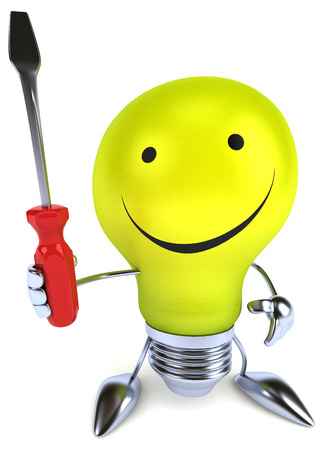 vision repair: Fun light bulb