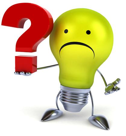 green light bulb: Green light bulb Stock Photo
