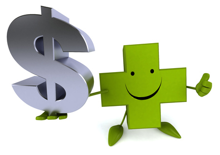 doctor with dollars: Pharmacy