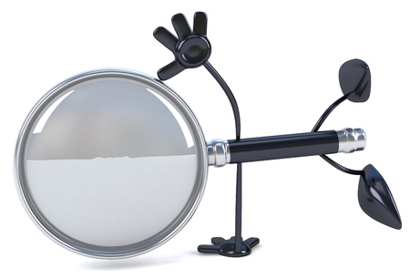 convenient: Loupe character