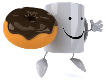 expresso: Fun mug Stock Photo