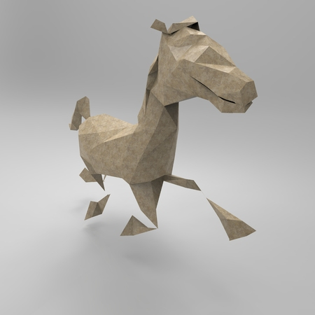 studs: Horse Stock Photo