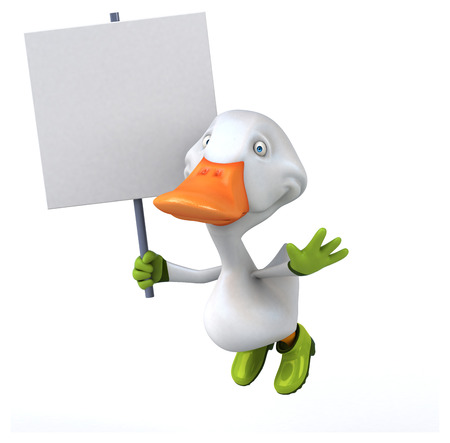 Fun duck Stock Photo