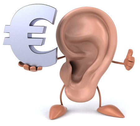 perception: Fun ear Stock Photo