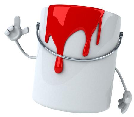 paint can: Paint
