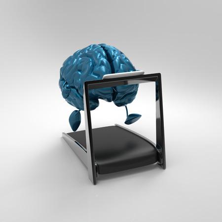 conscious: Brain Stock Photo
