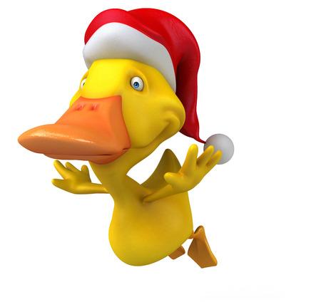 Fun duck Stock Photo