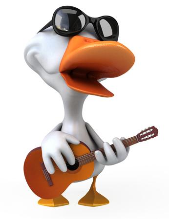 drake: White duck