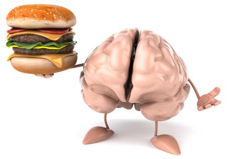 Fun brain Stock Photo