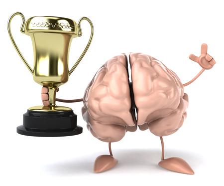 mentality: Fun brain Stock Photo