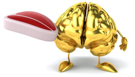 Fun brain Foto de archivo