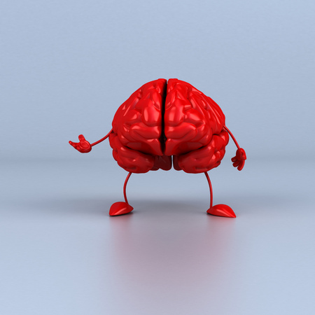 creativeness: Brain Stock Photo