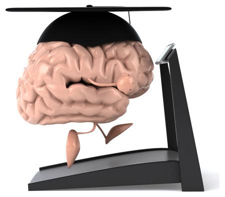 creativeness: Fun brain Stock Photo