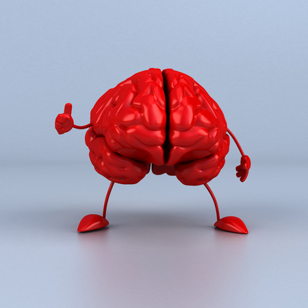 Fun brain Stock Photo