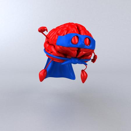 Super brain Stock Photo