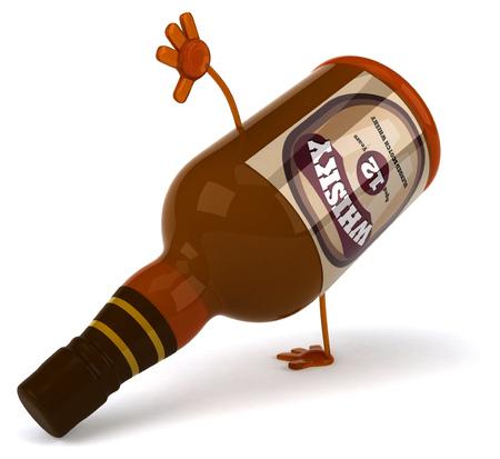 alcoholism: Whisky Stock Photo