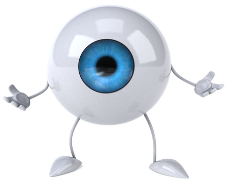 Eyeball character