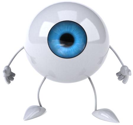 Eyeball character
