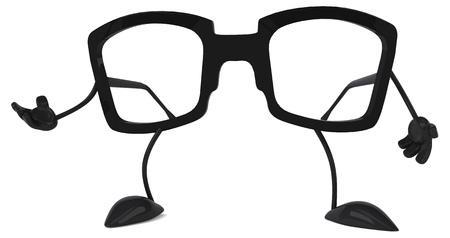 optician: Glasses Stock Photo