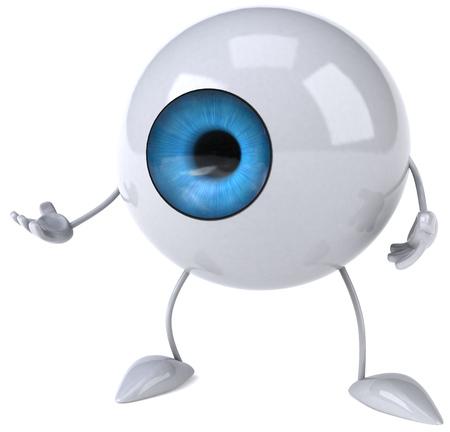 retina: Eyeball character