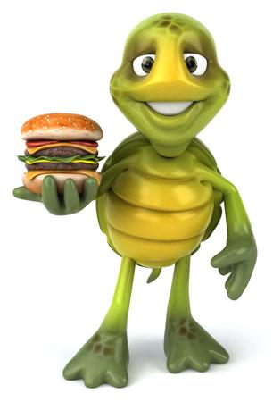 slow food: Fun turtle