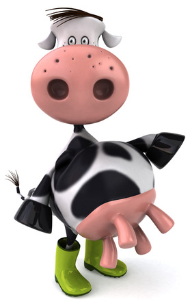 prairie: Fun cow