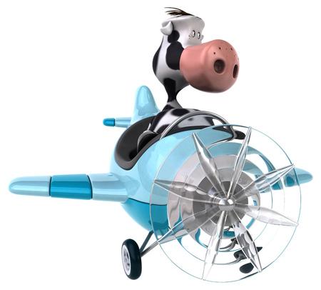 aeronautical: Fun cow