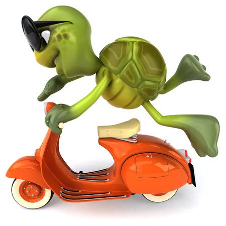 slower: Turtle