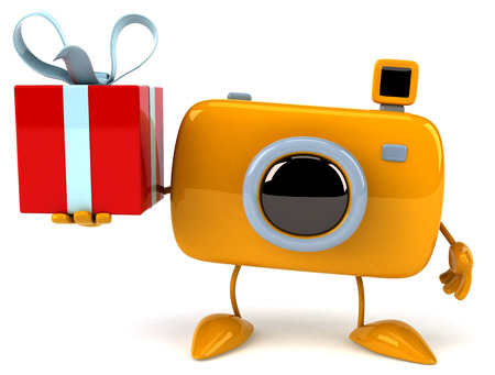 megapixel: Fun camera Stock Photo