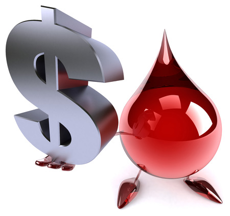doctor with dollars: Blood