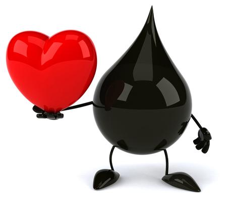 heart burn: Oil