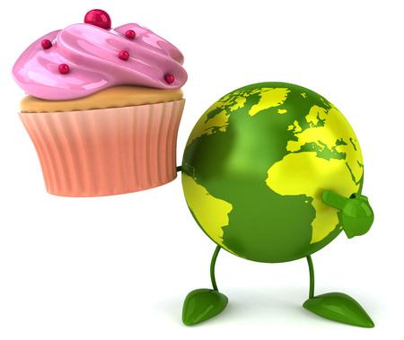 green world: Green world Stock Photo