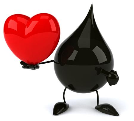 polluting: Oil