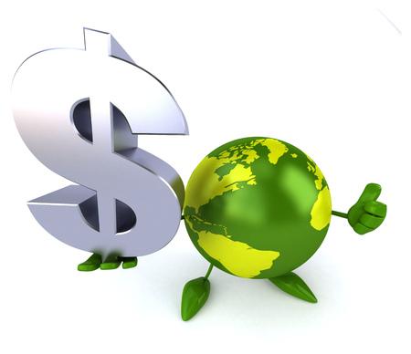 Green world Stock Photo