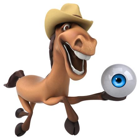 big brother: Fun horse