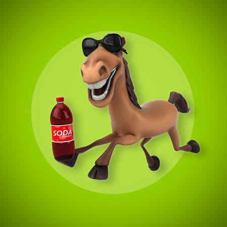 caballo bebe: caballo divertido