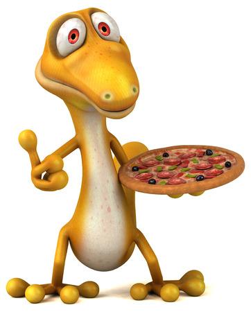 Fun lizard Stock Photo
