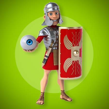 ancient roman: Roman soldier