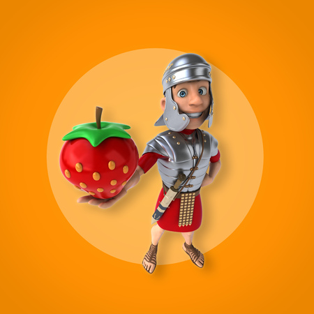 roman soldiers: Roman soldier
