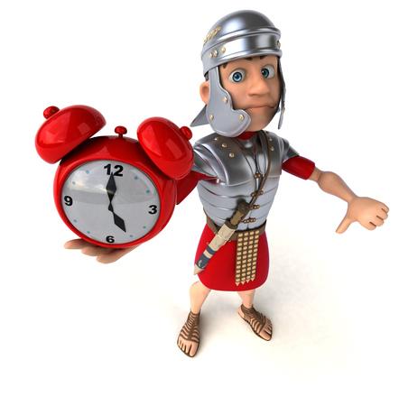 ancient roman: Roman soldier